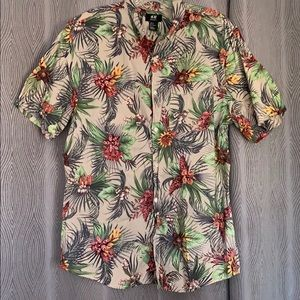 Aloha Print Buttondown